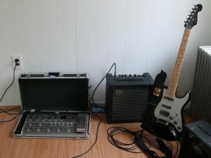 ToneLab LE, Cube 30, FSR Stratocaster