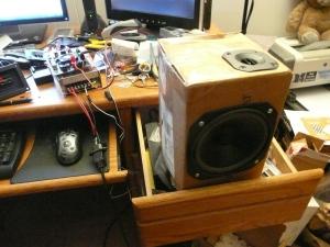 Speaker cabinet prototype