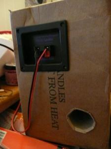 Speaker port!
